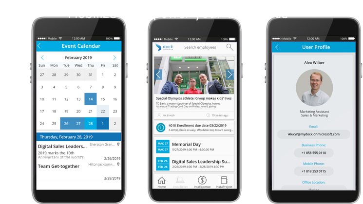 Intranet Mobile App