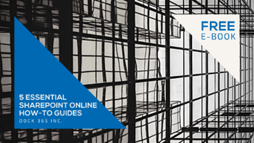 E-Book Featured Image - 5 Essential SharePoint online How-to Guides