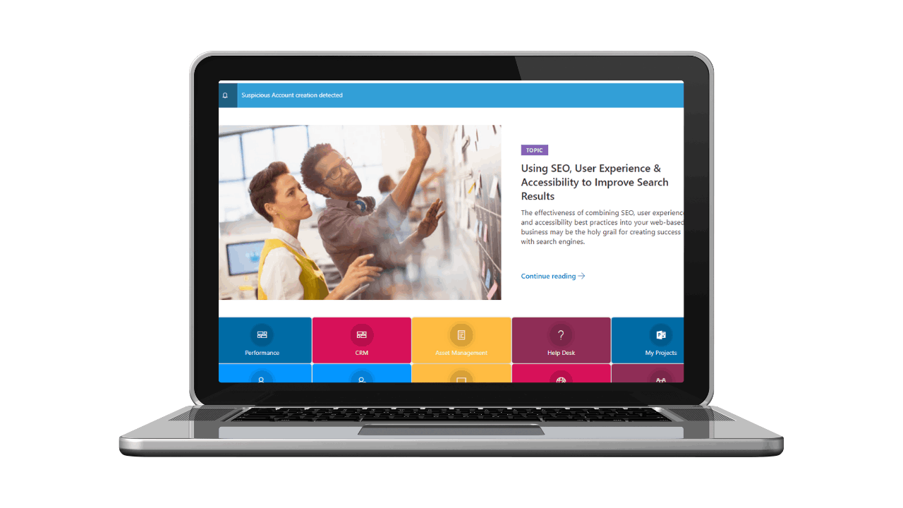 Efficient communication with Dock 365 Intranet