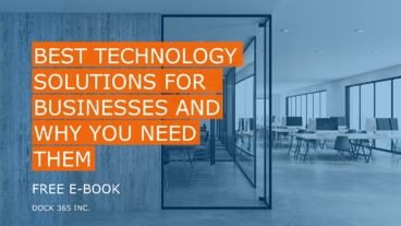Free E-BOOK - best technology solutions for businesses and why you need them