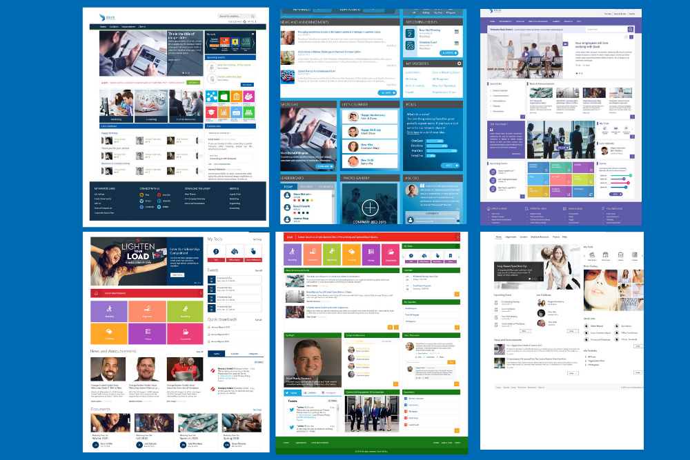 Intranet Design Examples (2)