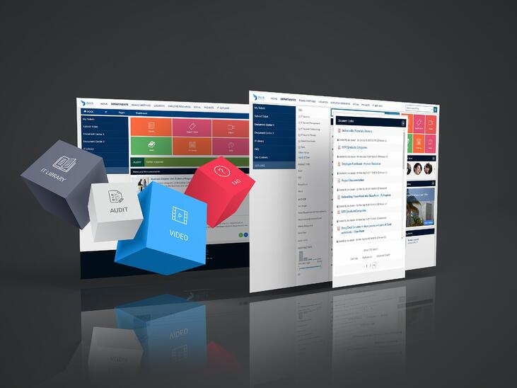 Pre built sharepoint template with Dock