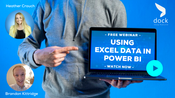 10. Webinar Banner_Using Excel Data in Power BI