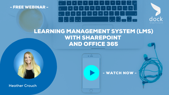 12. Webinar Banner_Learning Management System (LMS) with SharePoint and Office 365-1
