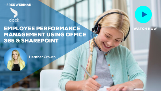 13. Webinar banner_Employee Performance Management Using Office 365 & SharePoint-1