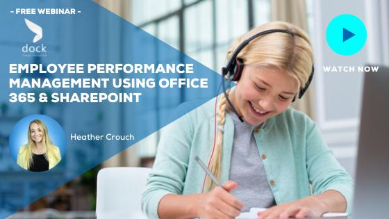 13. Webinar banner_Employee Performance Management Using Office 365 & SharePoint-1