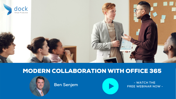 17. Webinar banner_Modern Collaboration With Office 365-2