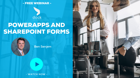 19. Webinar Banner_PowerApps and SharePoint Forms-2