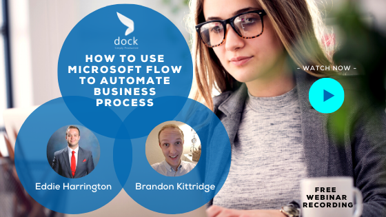 6. Webinar Banner_How to Use Microsoft Flow to Automate Business Process-3