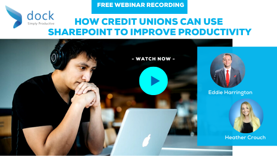 7. Webinar Banner_How Credit Unions Can Use SharePoint to Improve Productivity-7