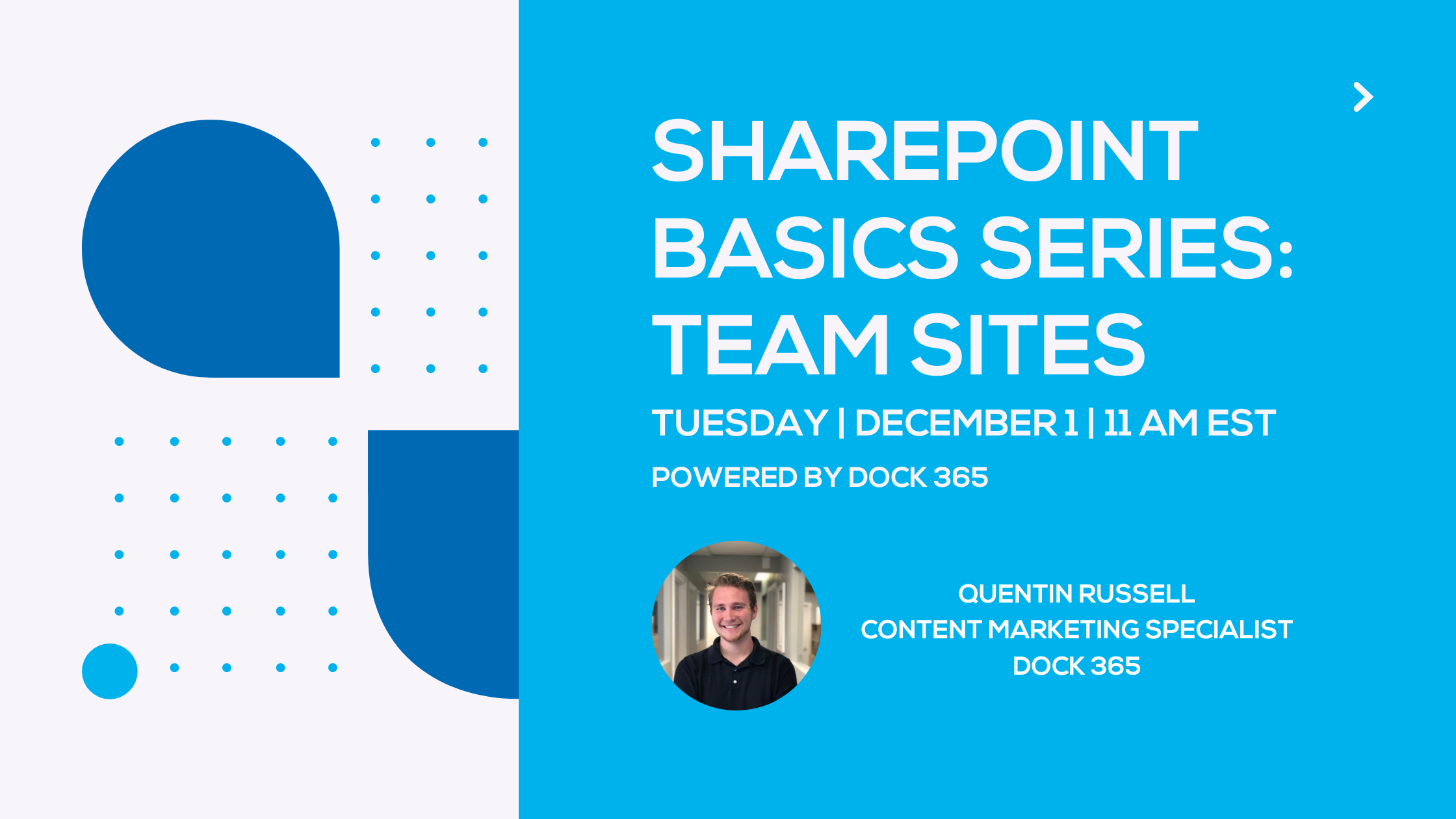 SharePoint webinar - SharePoint basics series: team sites