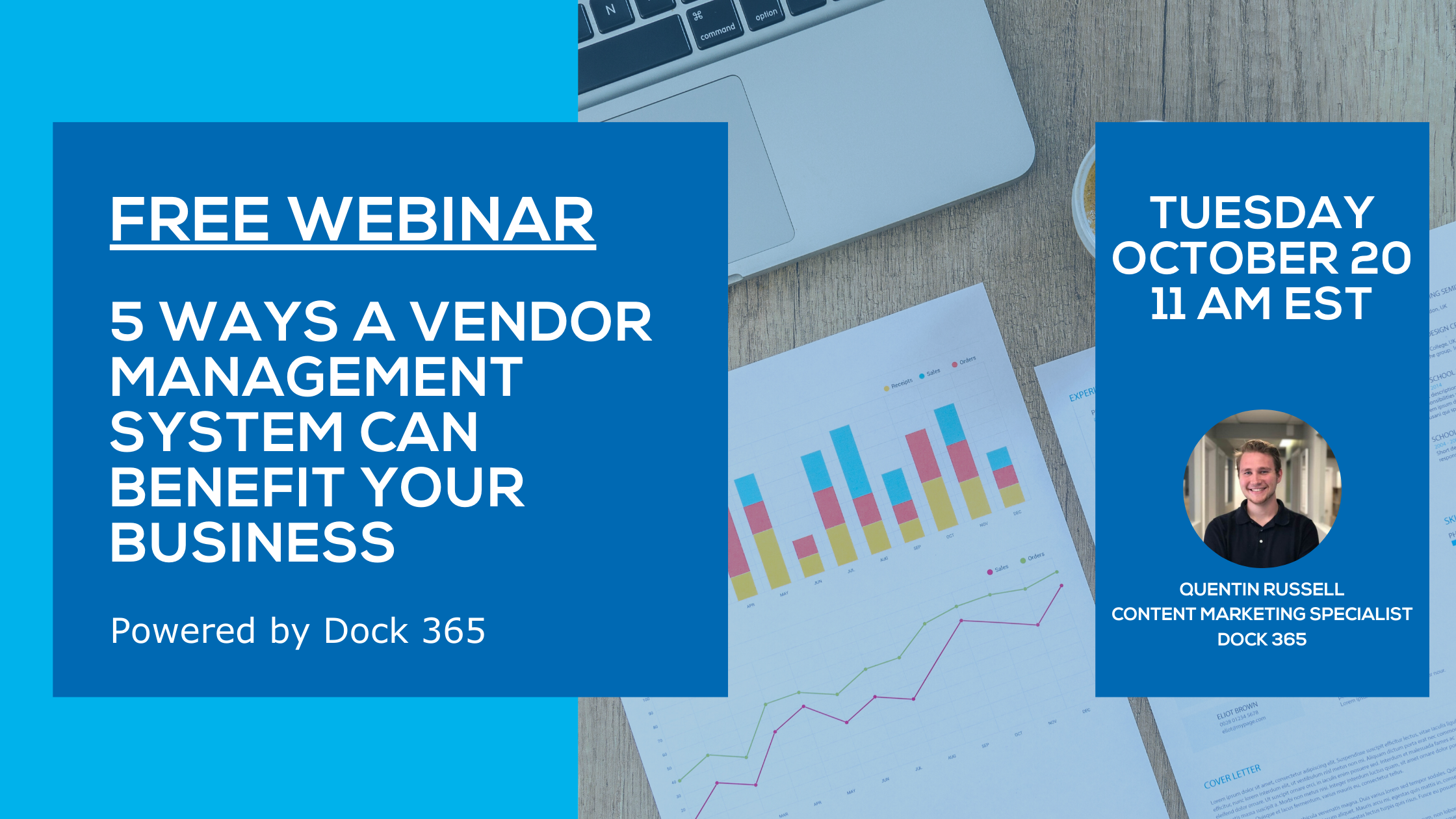 Dock 365 Webinar - 5 Ways a Vendor Management System Can Benefit Your Business