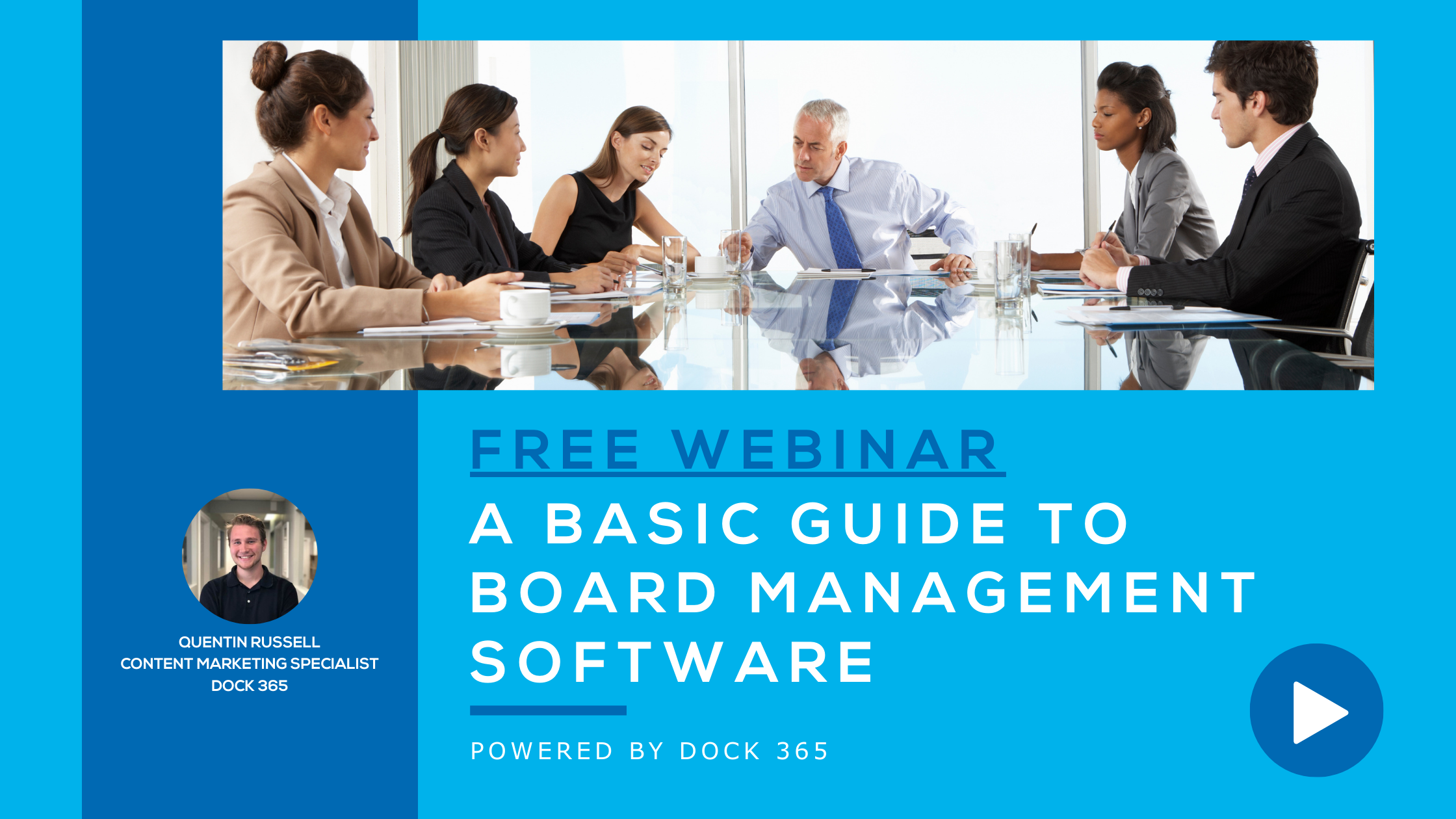 Dock 365 Webinar - A Basic Guide to Board Management Software