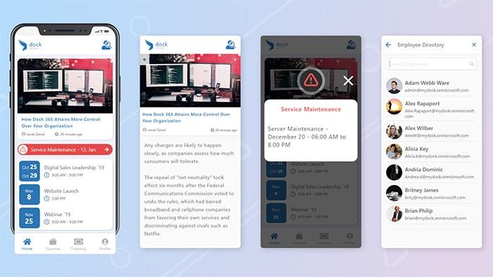05 Intranet Mobile App