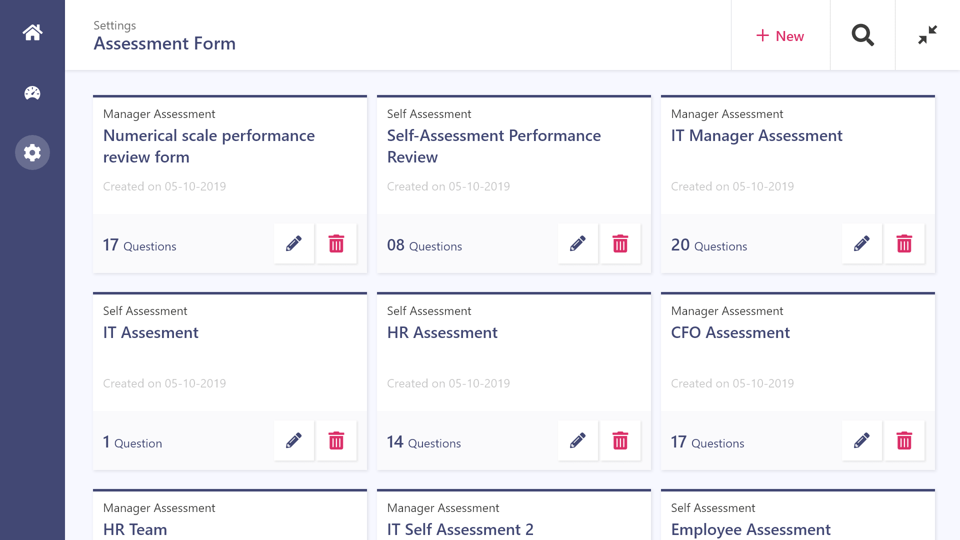 Dock 365 Employee Performance  assessment