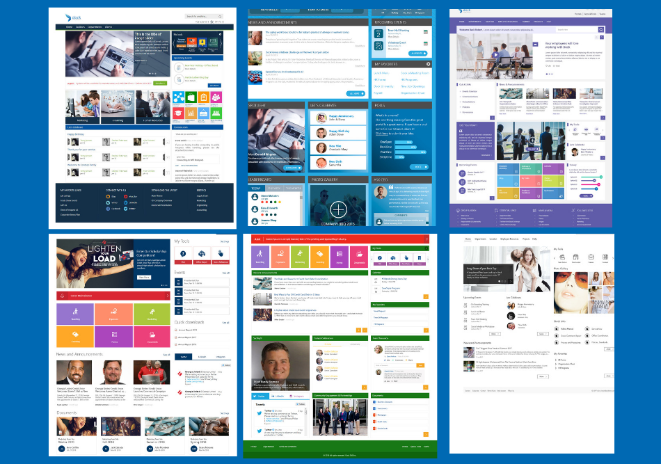 Intranet Design Examples (2)-1