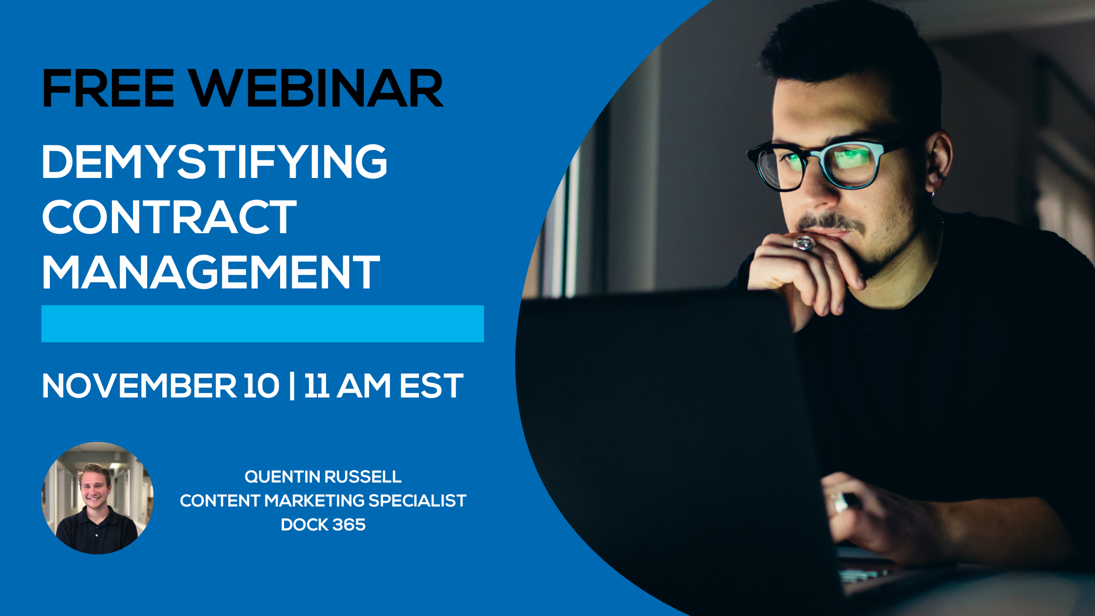 Free SharePoint Webinar - Demystifying Contract Management